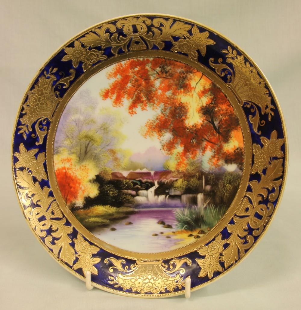wonderful noritake cabinet plate