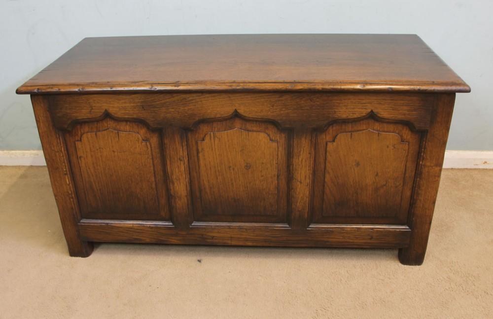 oak blanket chest coffer