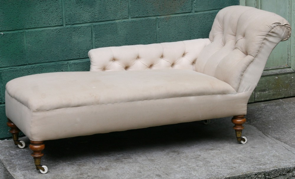 A victorian chaise longue 348627 for Chaise longue for sale uk