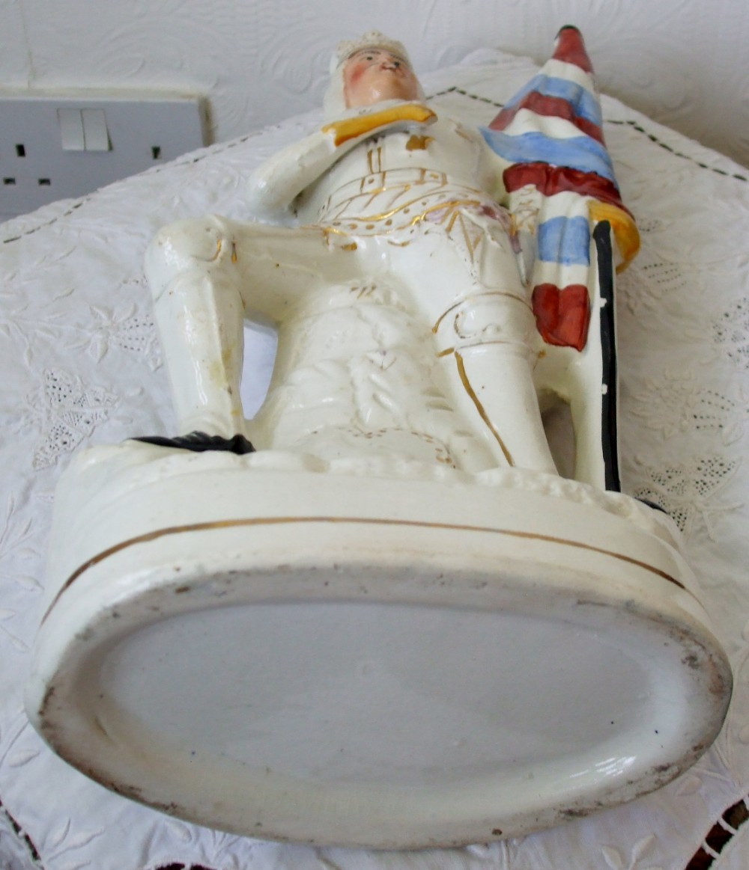 H Pugh Pottery Antique English Victor...
