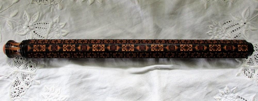 antique english victorian tunbridge ware desk accessory