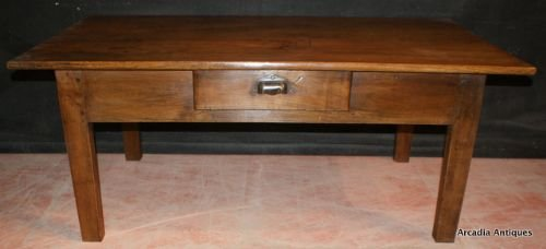 French Fruitwood Coffee Table 161428 Sellingantiquescouk