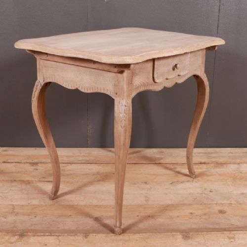 Dated 19th Century. Arcadia Antiques · BLEACHED OAK LAMP TABLE