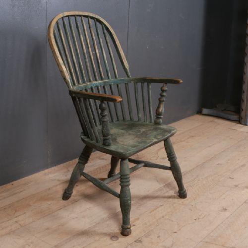 original painted windsor chair