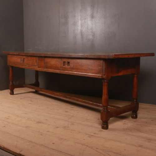 french oak serving table