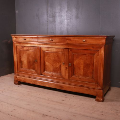 french cherrywood enfilade sideboard