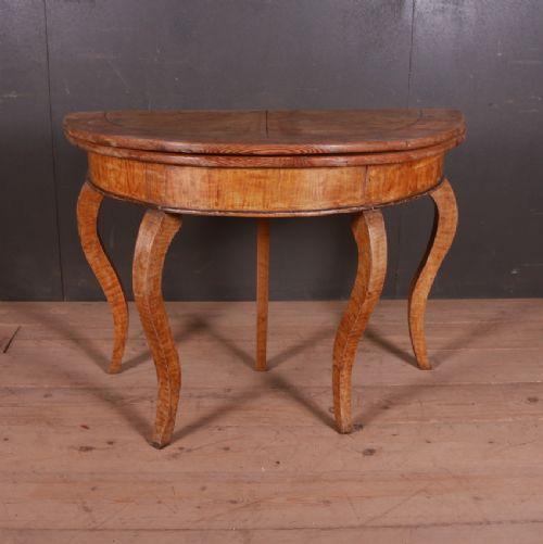 swedish console table