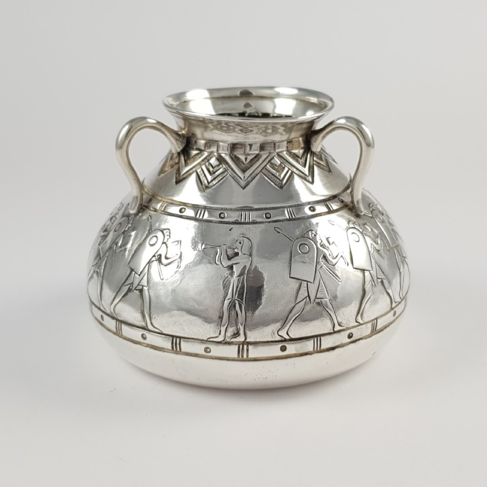 early 20th century portuguese silver pot david ferreira
