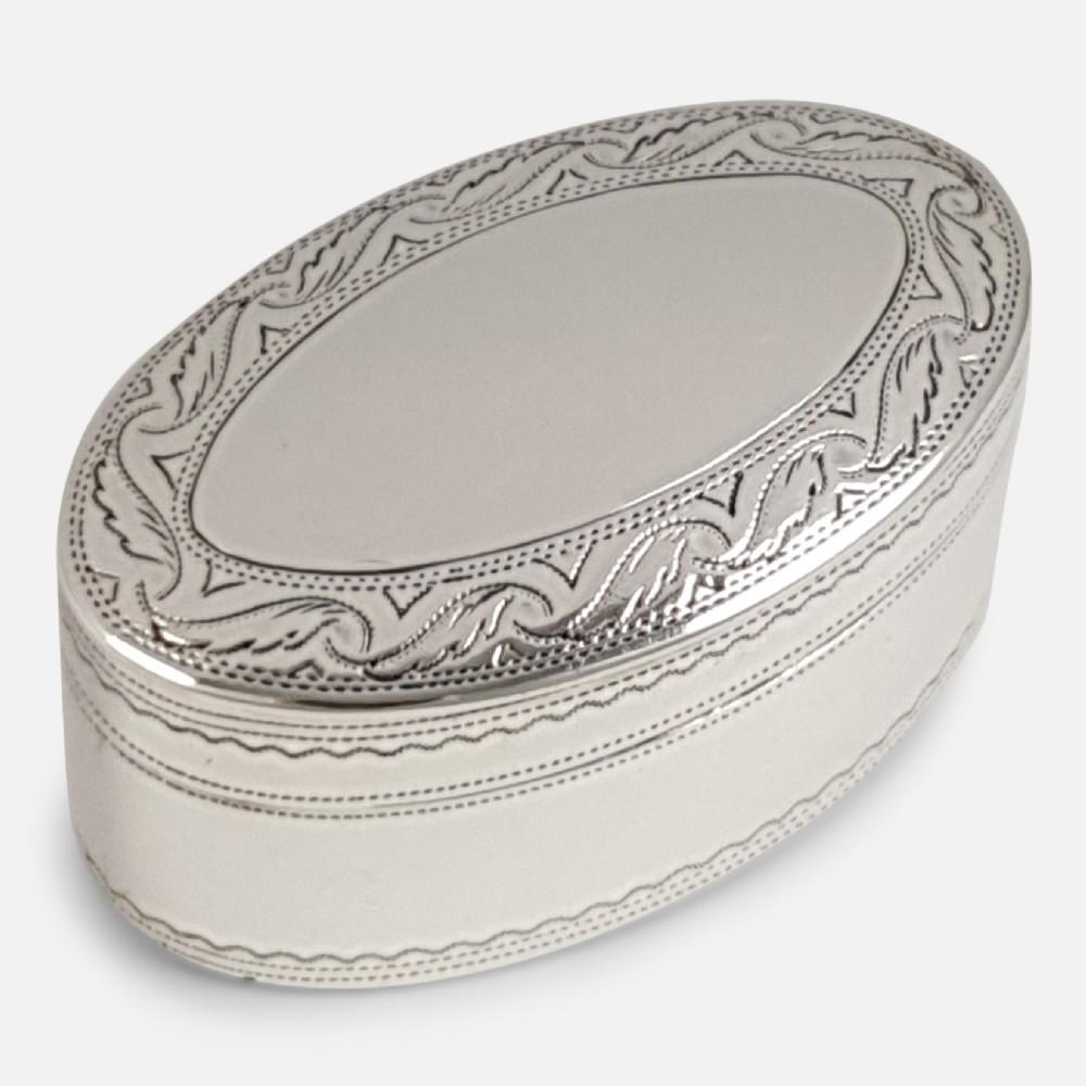 george iii silver and steel nutmeg grater john shaw 1808