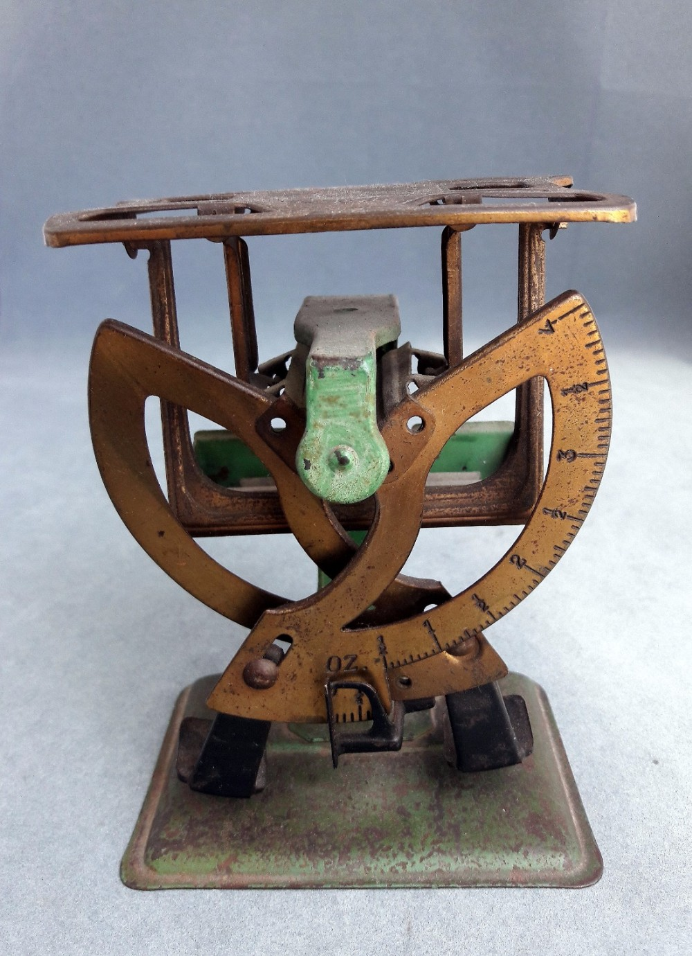 early postal scales
