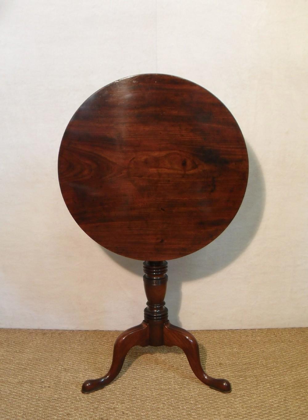 georgian tripod lamp table