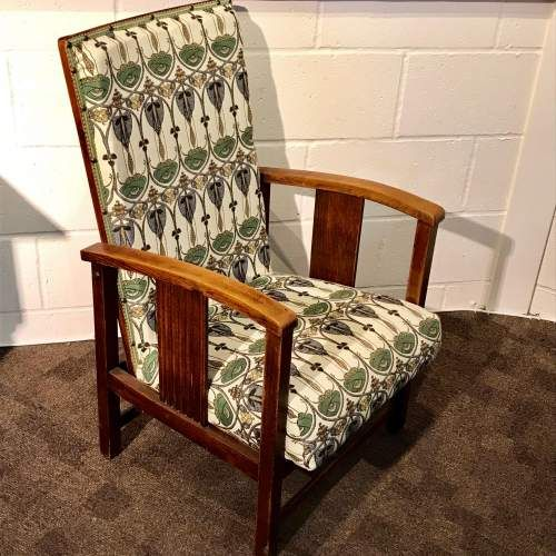 Fine English Art Deco Reclining Chair C 1920 568523 Machost Co Dining Chair Design Ideas Machostcouk