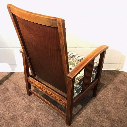 Terrific English Art Deco Reclining Chair C 1920 568523 Machost Co Dining Chair Design Ideas Machostcouk