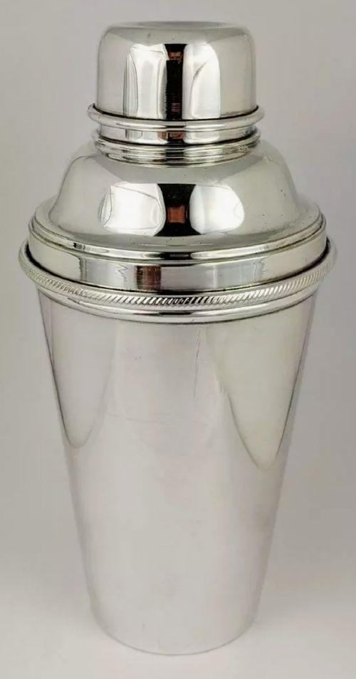art deco 1920s james dixon cocktail shaker