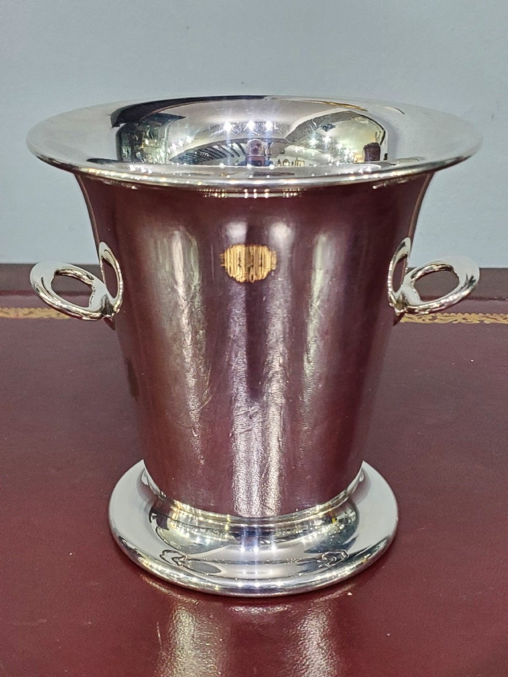 william suckling art deco silver plated ice bucket c1930s