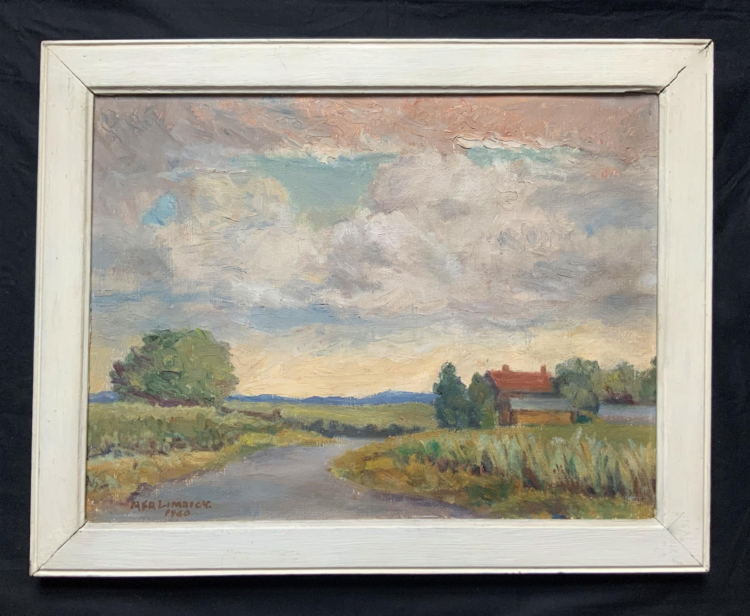 irish school mid 20th century impressionist oil landscape signeddated