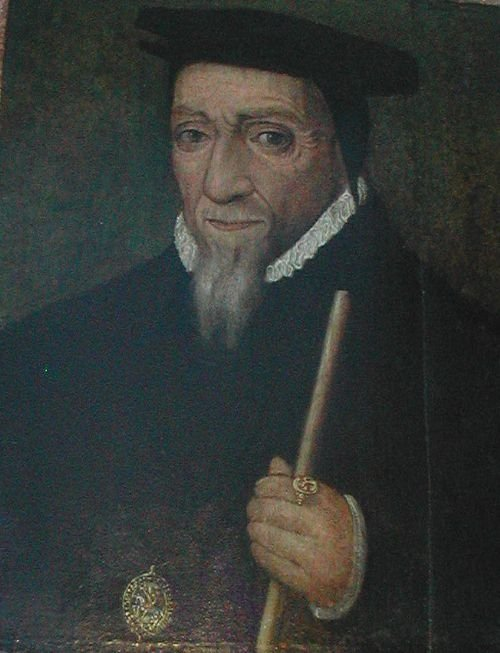 portrait of sir william paulet 1st marquess of winchester 14745 1572 english school 16th century