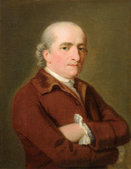 allan ramsay 1713 1784portrait of william sandeman 17221790 of luncarty perthshire