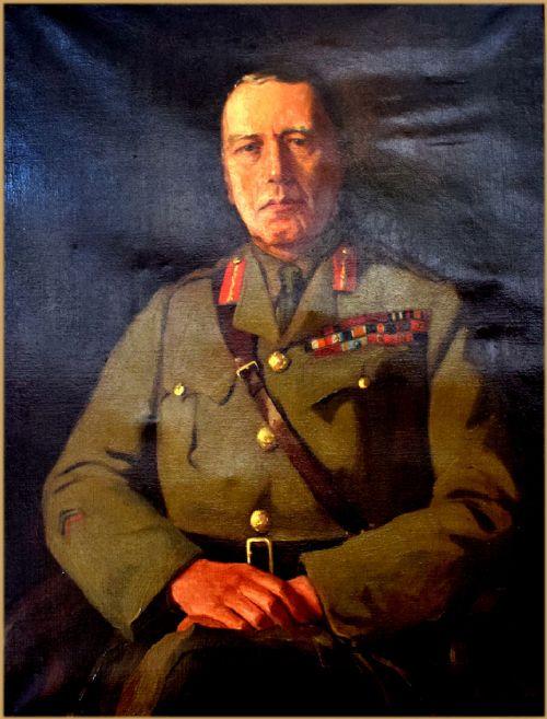 ruth cecil latter 18691949portrait of sir cecil frederick nevil macready 1st bt kcb kcmg and gcmg 18621946