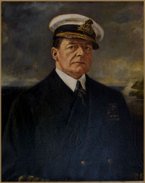 henry l gates fl1920 1943portrait of admiral of the fleet david richard beatty 1st earl beatty gcb om gcvo dso pc 18711936