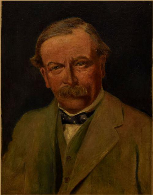 attributed to sir james guthrie 1859 1930portrait of david lloyd george 1st earl lloydgeorge of dwyfor om pc 1863 1945