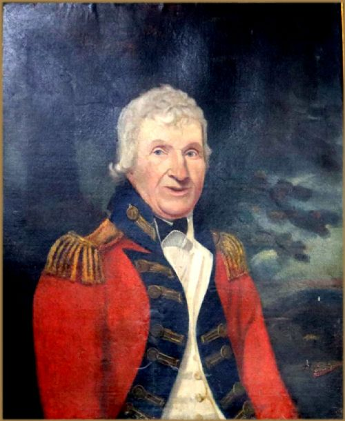 attributed to henry walton 17461813portrait of a general officer of a royal regiment circa 1790