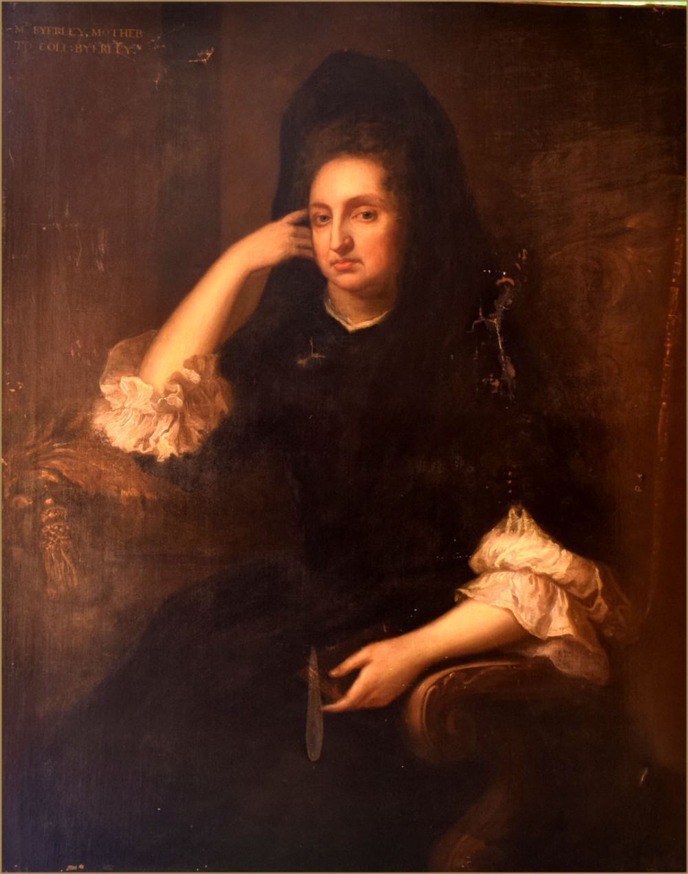 michael dahl 1659 1743portrait of anne byerley of middridge grange and goldsborough hall circa 1645