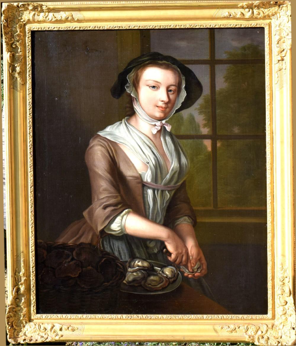 studio of philip mercier 16891760the fair oyster girl