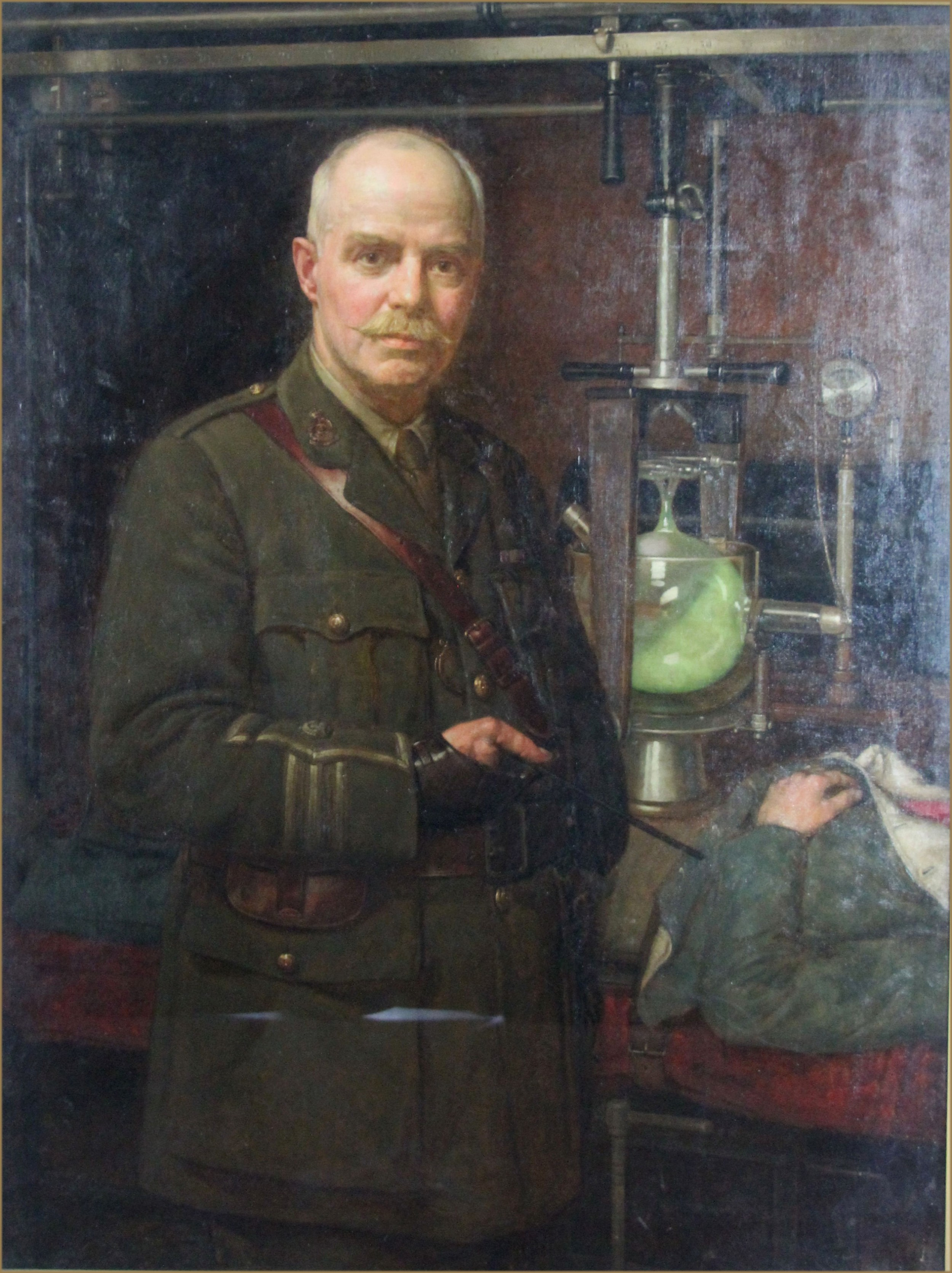 arthur trevethin nowell ri rp 18621940portrait of major dr john halledwards frse 18581926