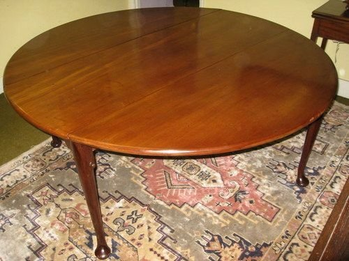 Large Georgian Mahogany Drop Leaf Dining Table 99753  : dealeratheyfull1292947959770 0486317494 from www.sellingantiques.co.uk size 500 x 375 jpeg 48kB