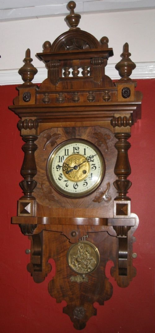 Gustav Becker Clock Parts