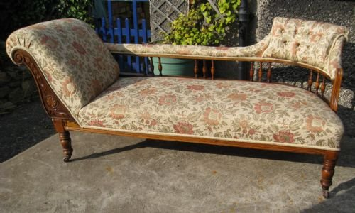 Edwardian chaise longue 127123 for Antique edwardian chaise longue