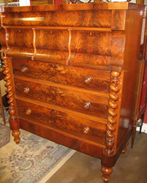 scottish chest of drawers  3