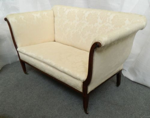 Edwardian sofa 261207 for Chaise salon solde