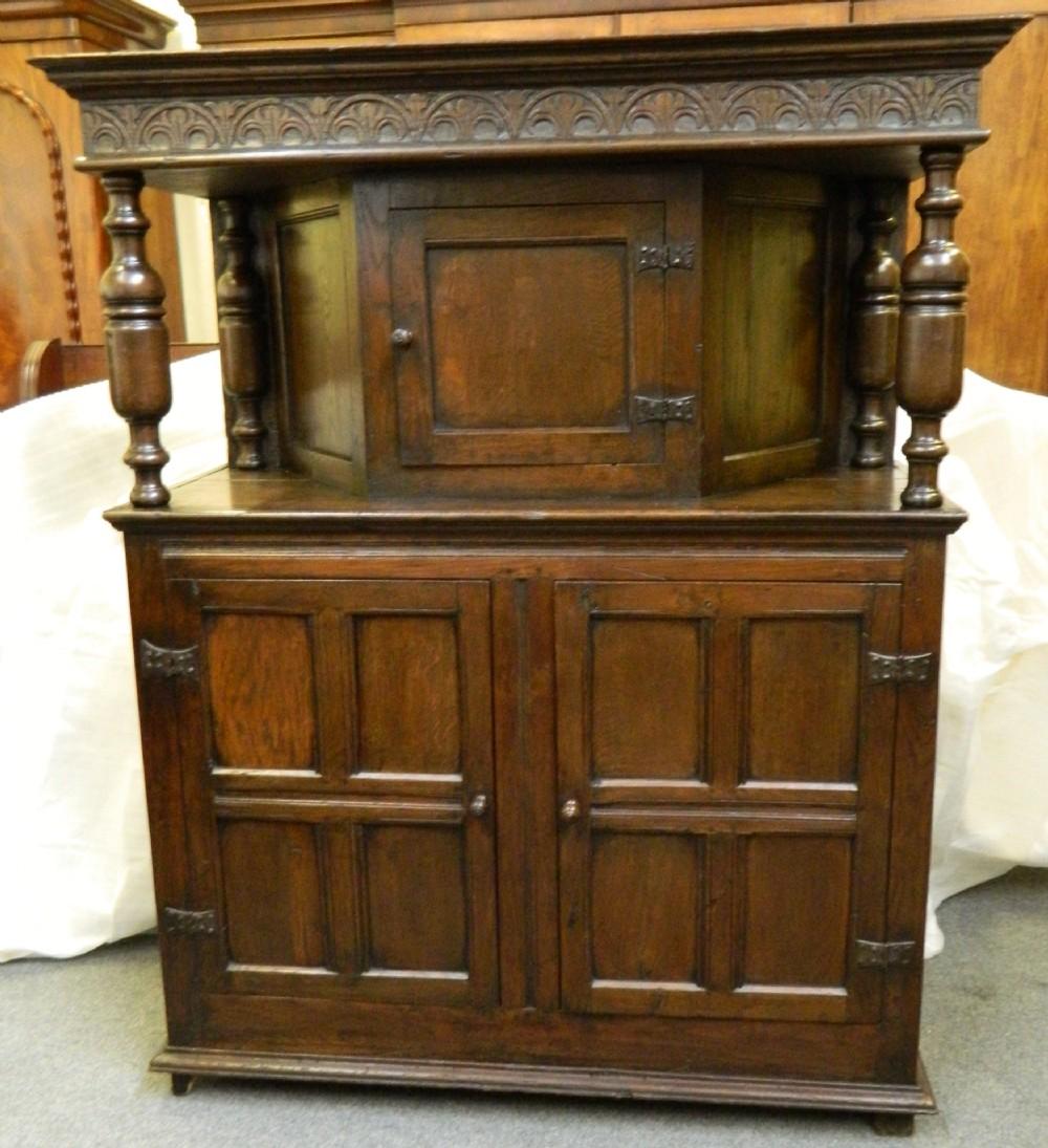Antique Court Cupboard - Antique Court Cupboard Antique Furniture