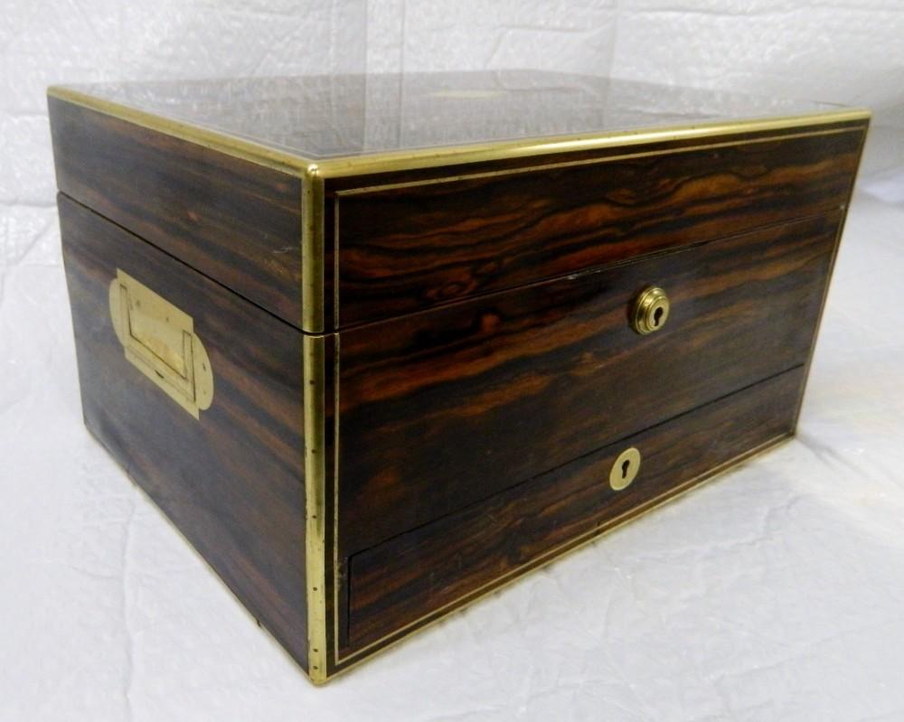 coromandel dressing jewellery box