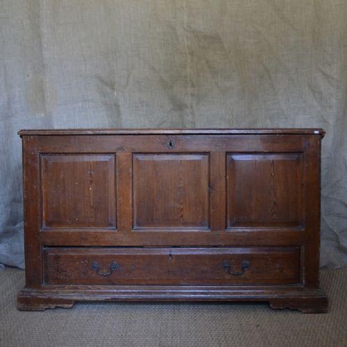 a pine chest c1800