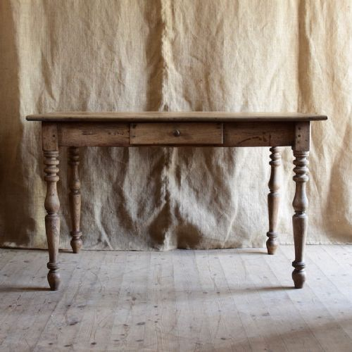 elm and beech rustic table