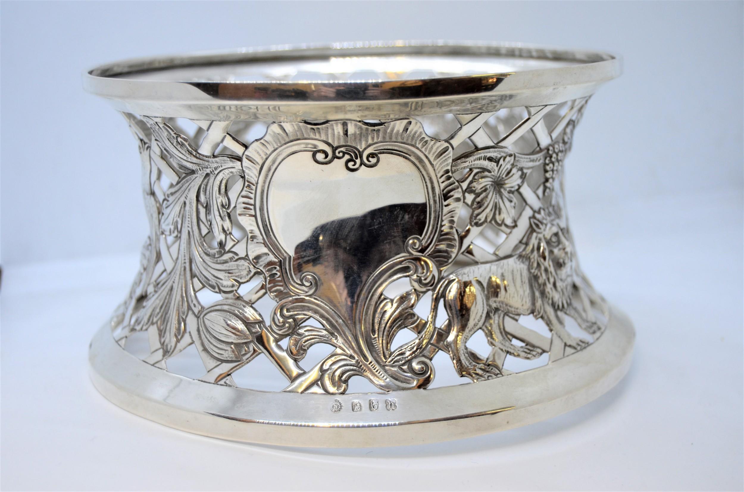 irish silver dish ring dublin