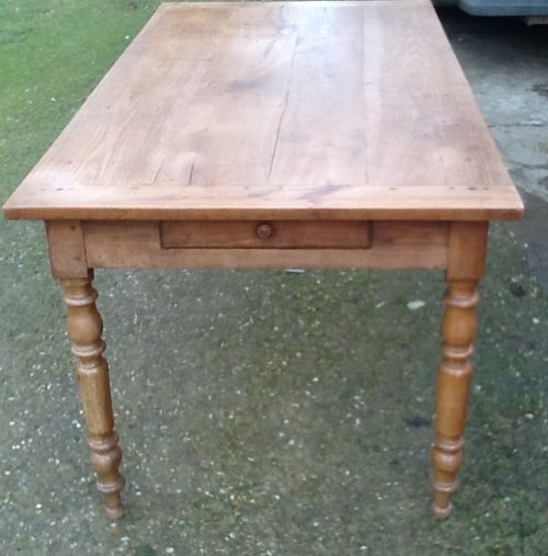 French provincial cherrywood farmhouse table 8 to 10 for 10 seater farmhouse table