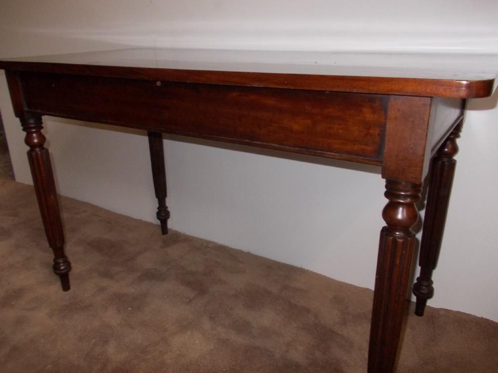 mid 19thc mahogany hall table c1850 307906