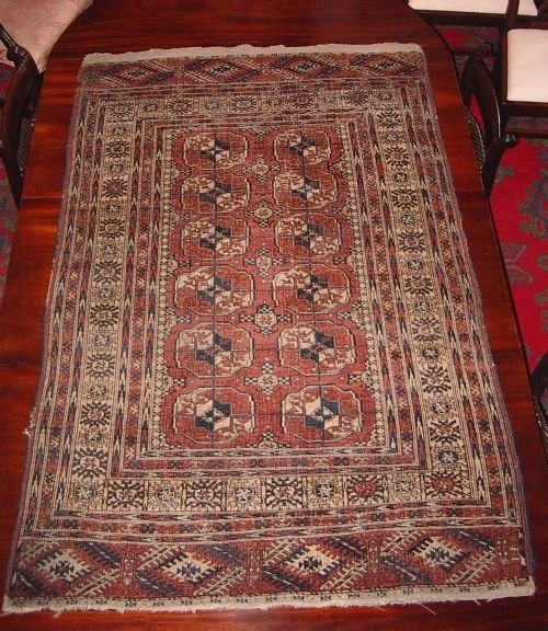 Antique Tekke Turkoman Rug