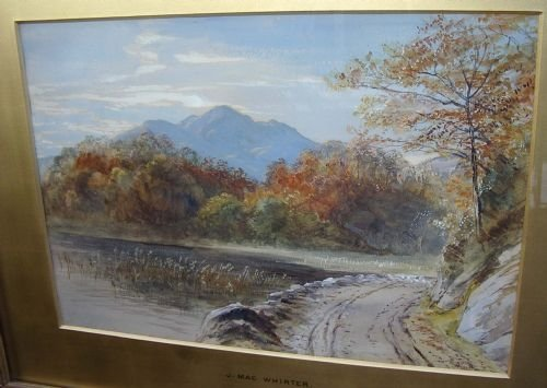 john macwhirter ra 18391911' highland landscape in autumn' c1880 - photo angle #2