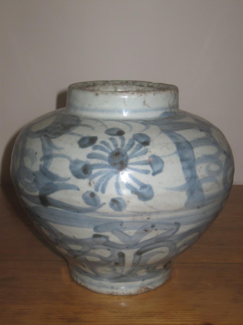 chinese large ming dynasty13681644 porcelain vase