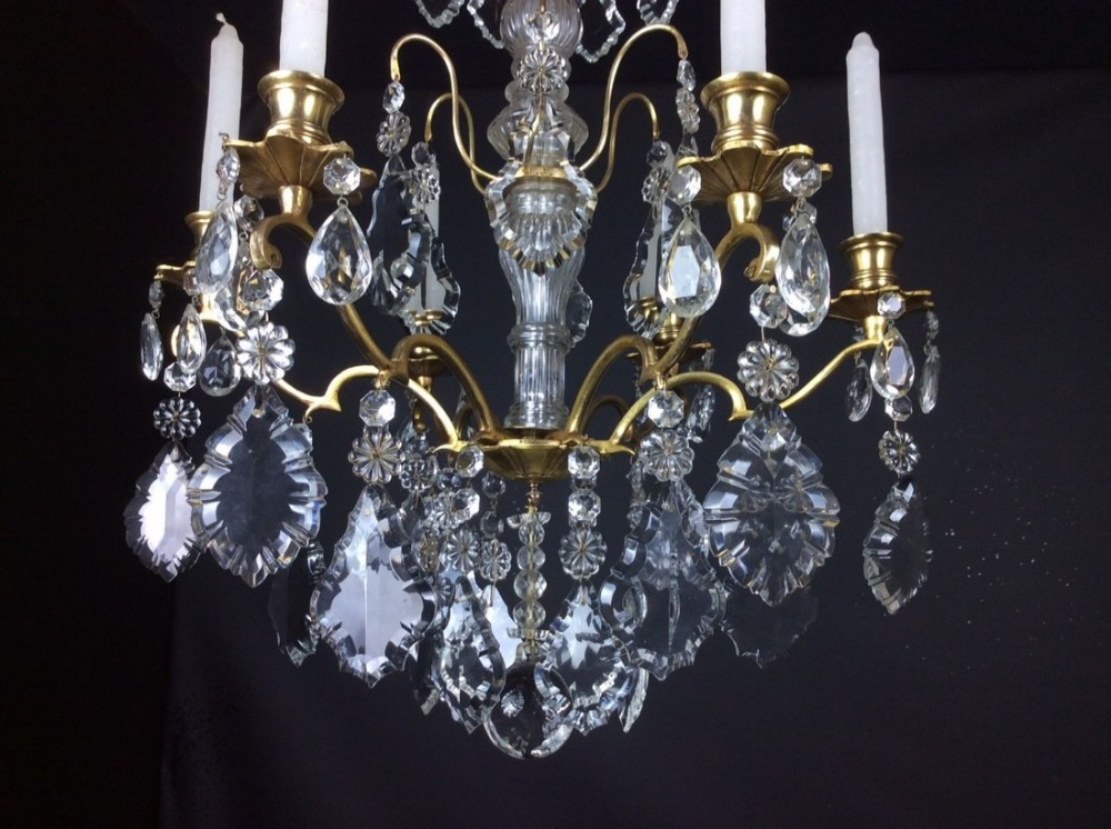 Cora Ceiling Light Bronze 6 Arm : Exceptional beautiful arm candle french antique bronze