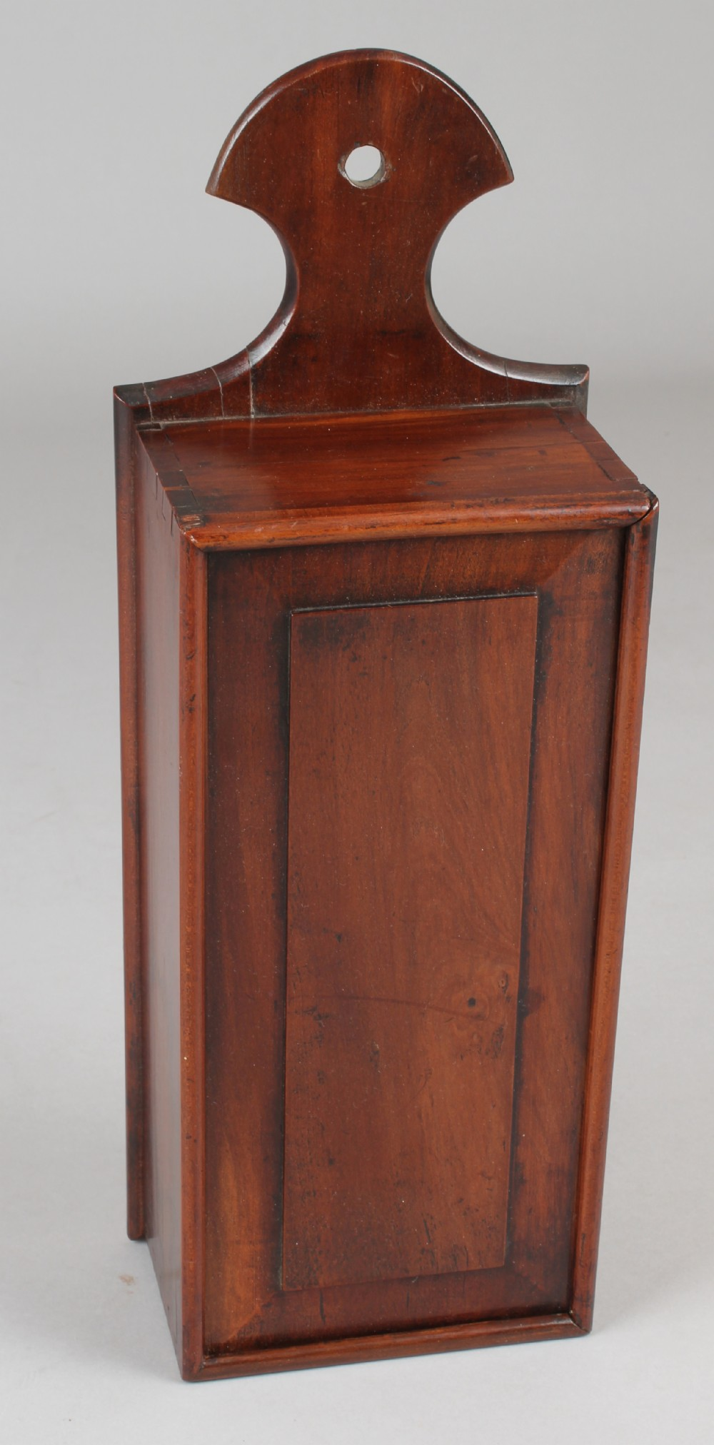 george iii period mahogany candlebox