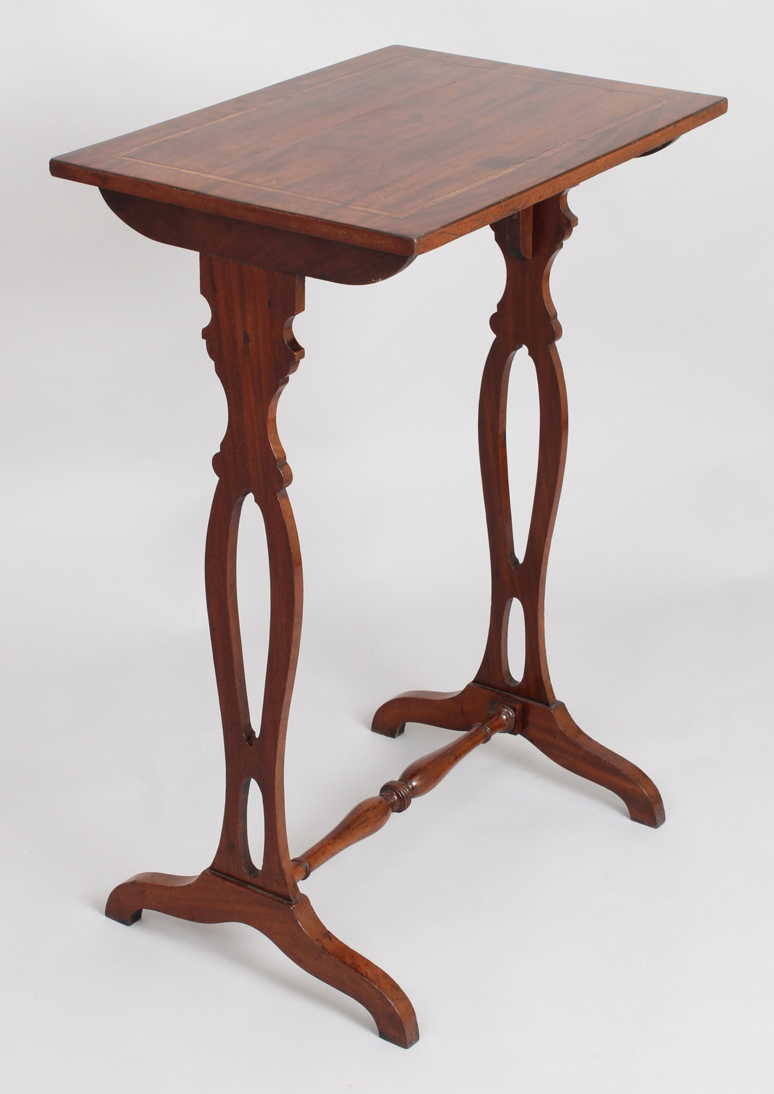 george iv period mahogany occasional table