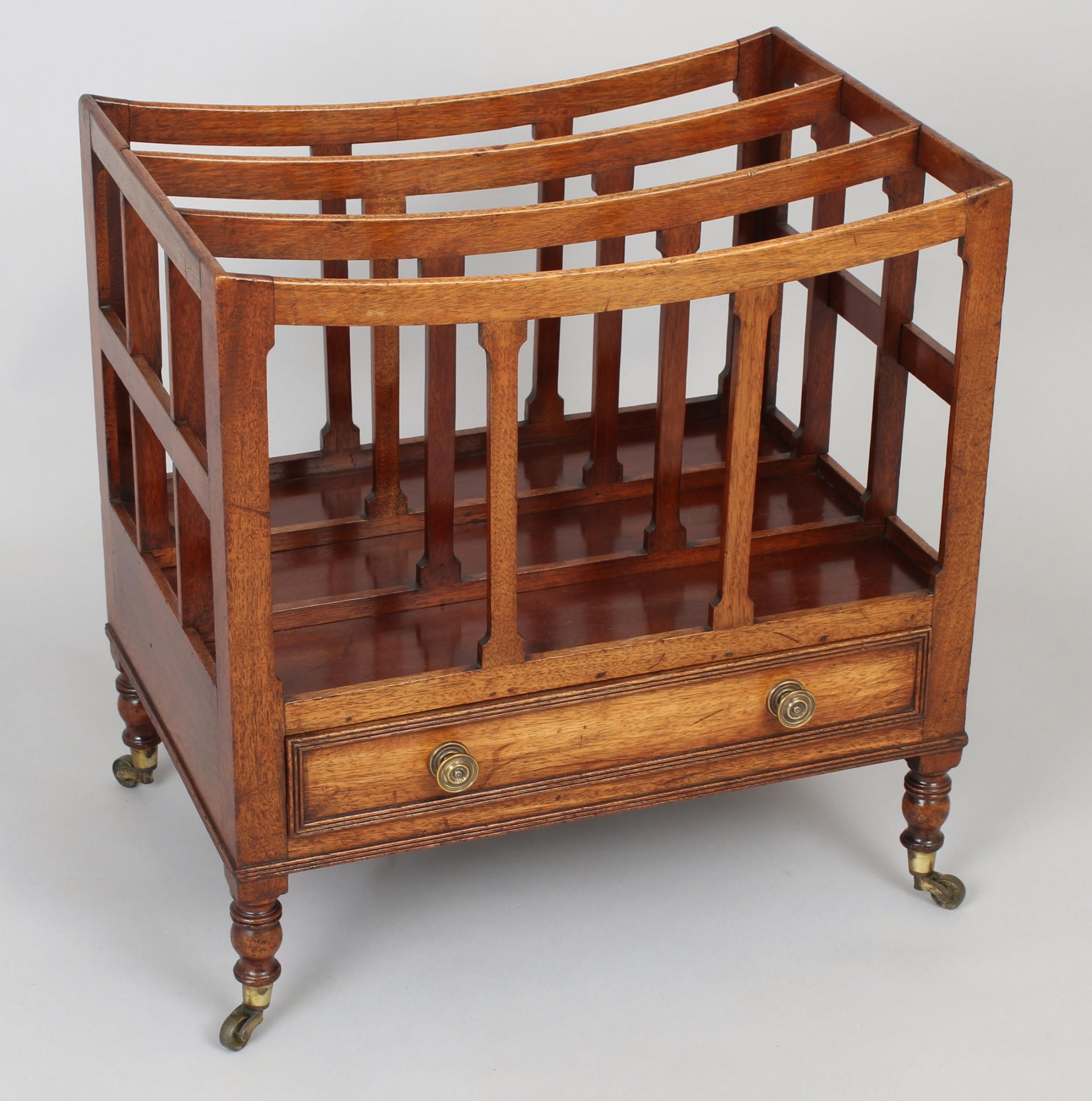 george iii period mahogany canterbury