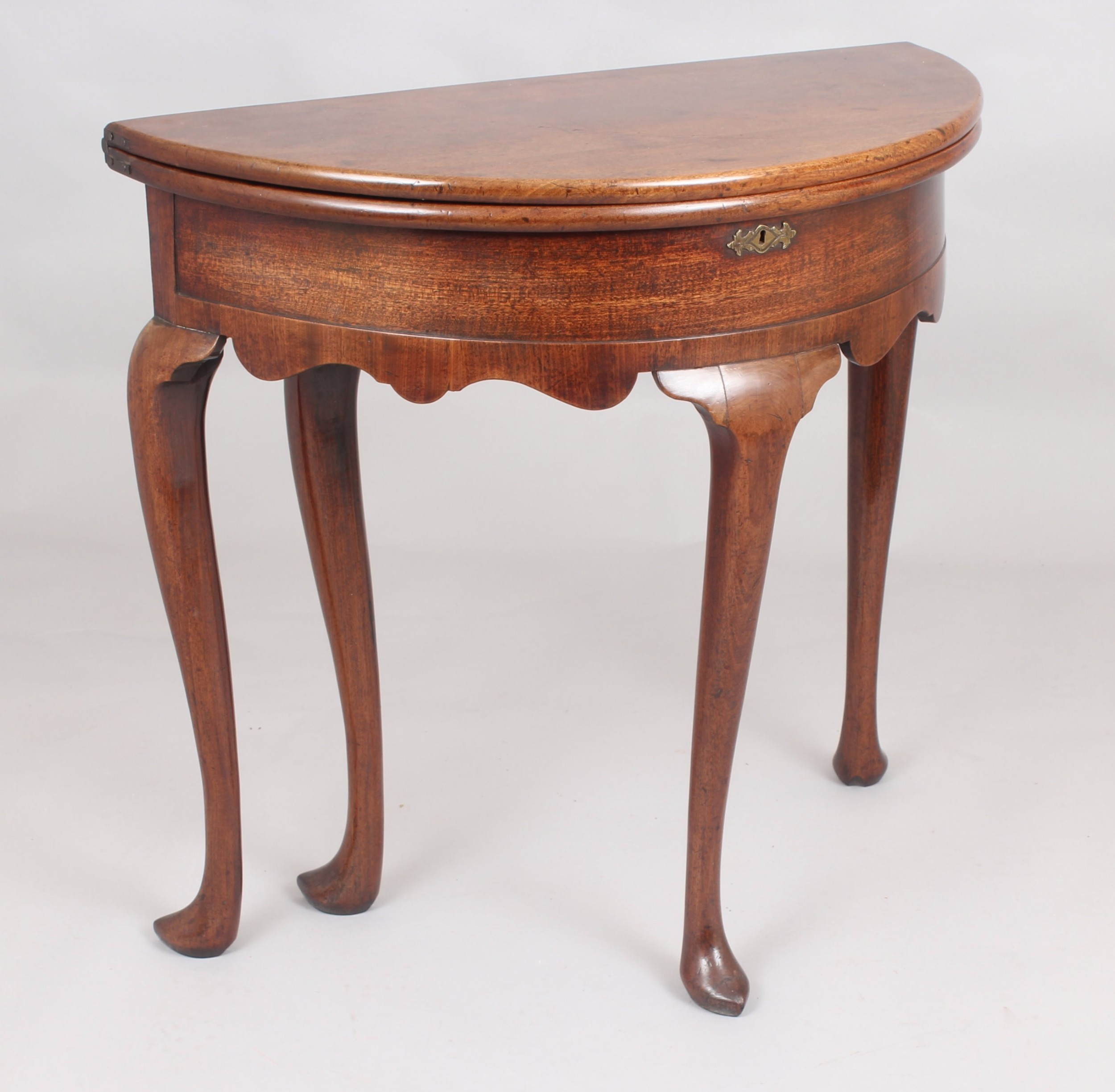 george ii period mahogany teatable