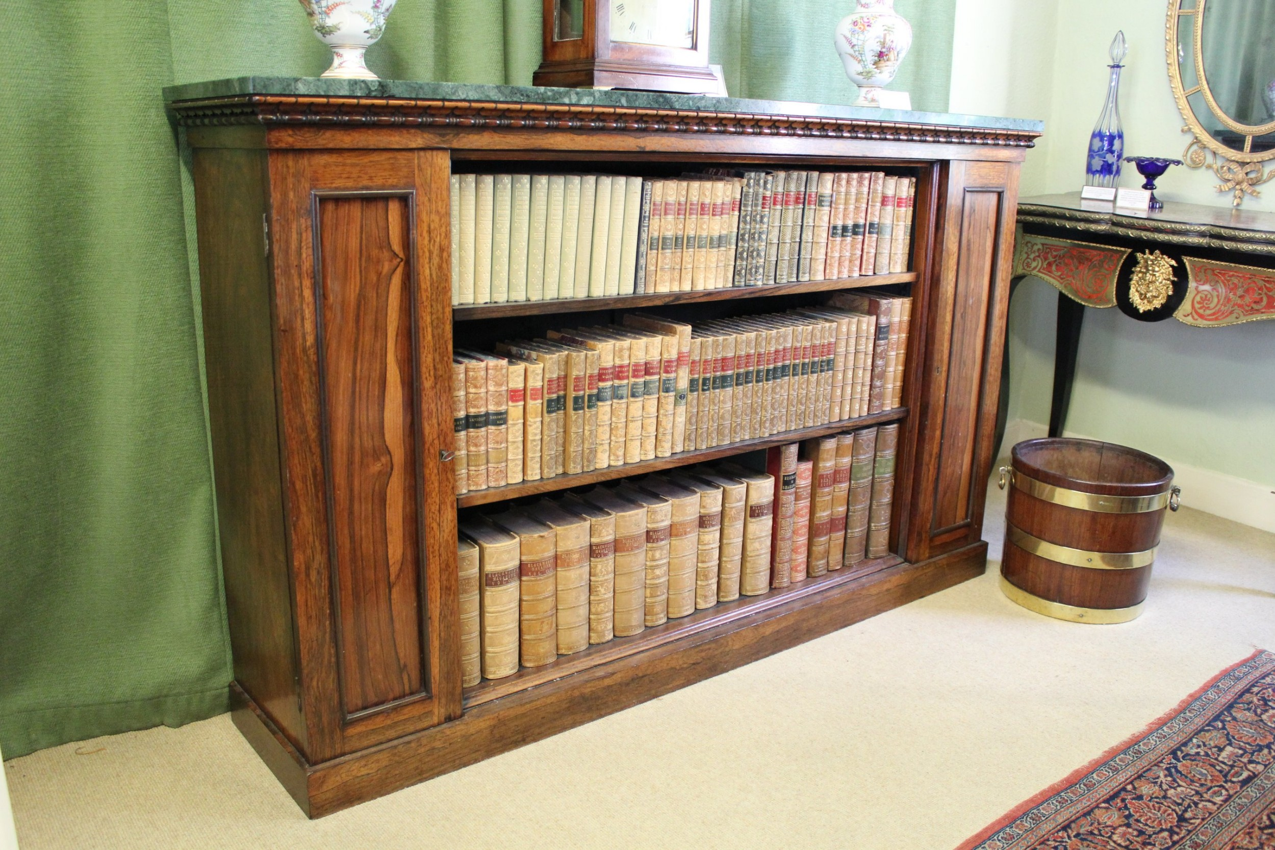 fine quality william iv period rosewood sidecabinet